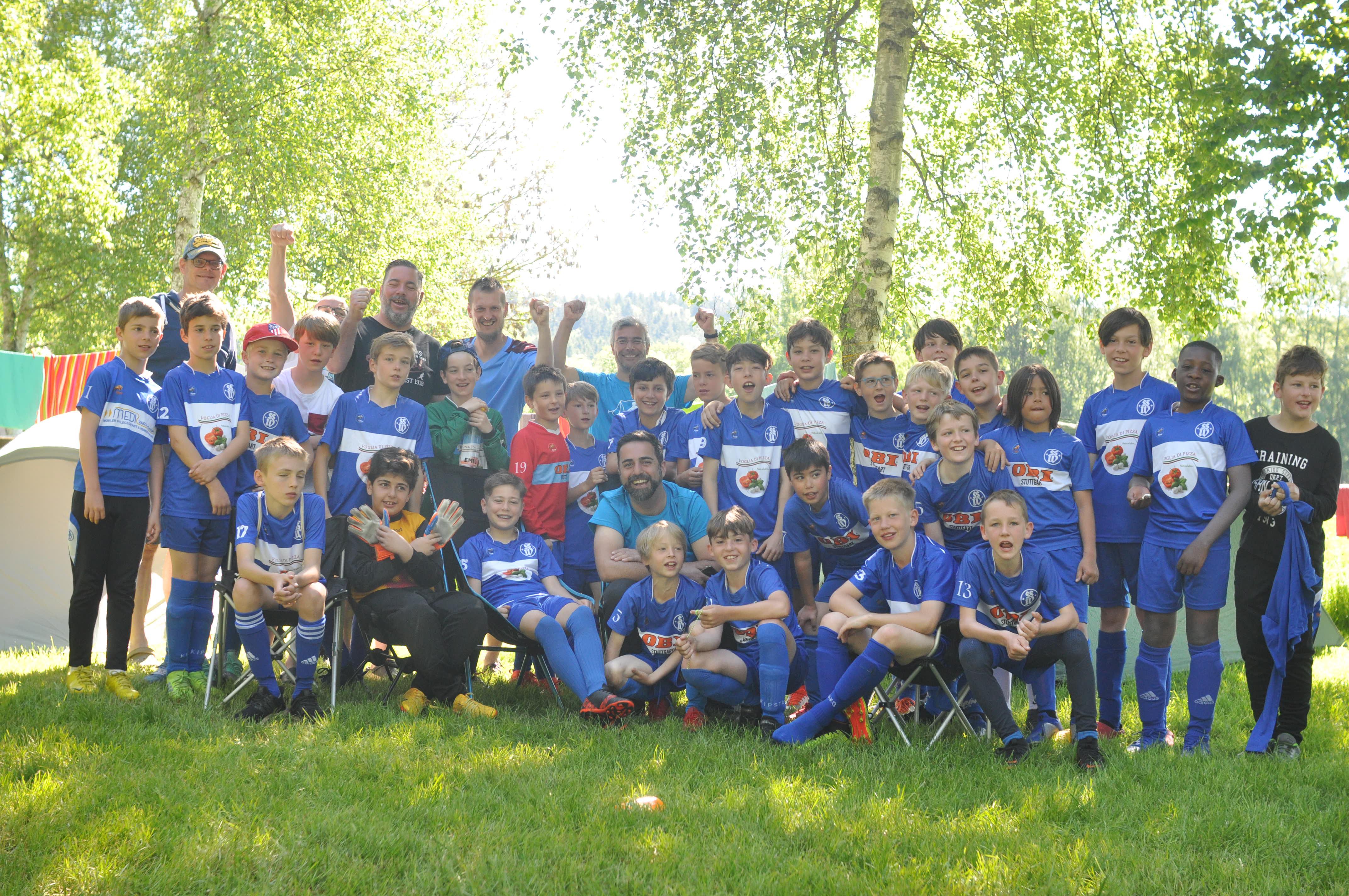 Fußball-Camp am Illmensee 2019