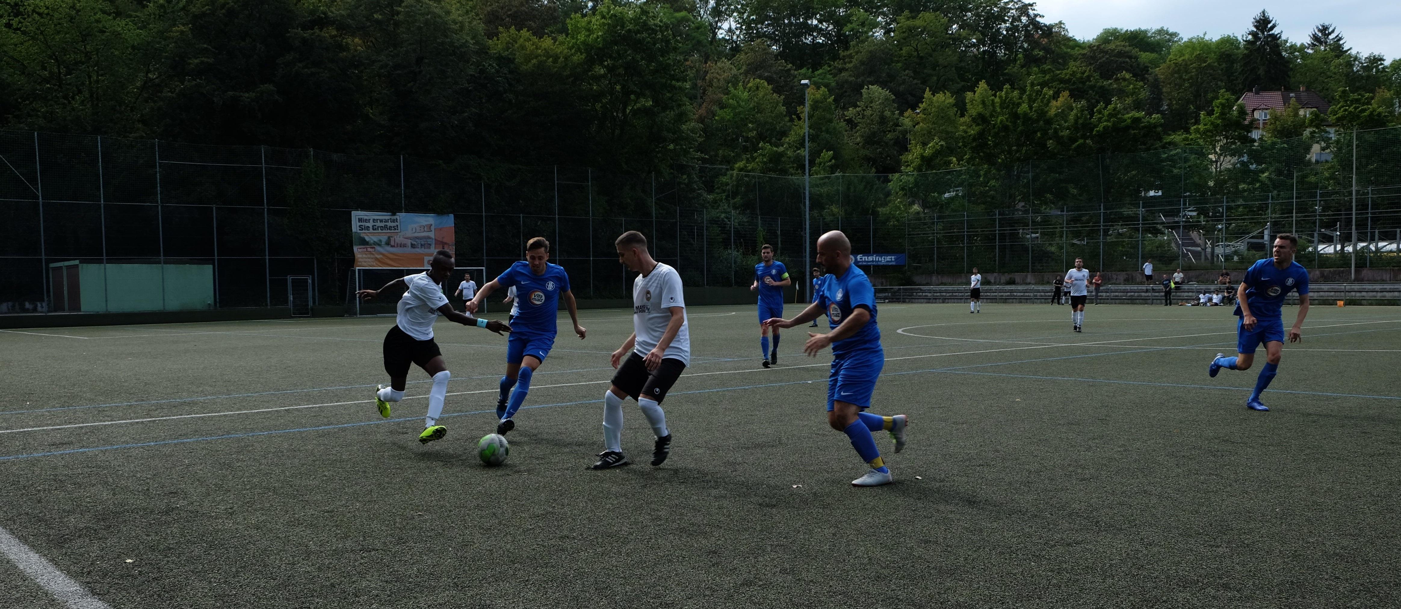Read more about the article Spielbericht SG West – SKV Palästina Al Q'uds