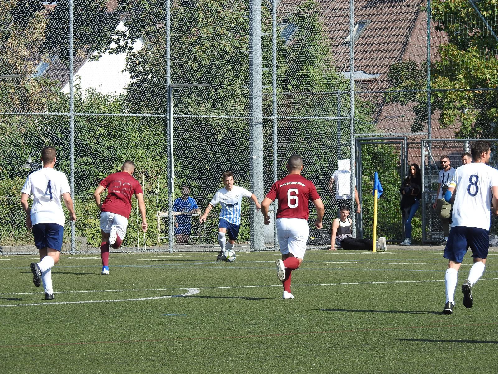 Read more about the article Spielbericht SG West – FK Sarajevo Stuttgart